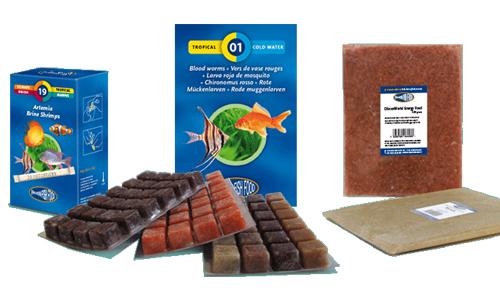 nourriture aquariophilie